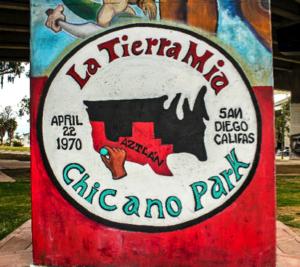 Chicano Park/La Tierra Mia Logo (1974) Charlotte Marie Hernandez-Terry
